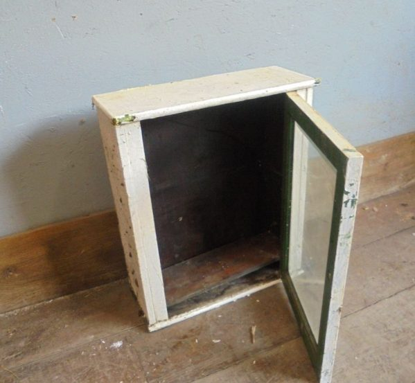 .Glass Fronted Window Cabinet