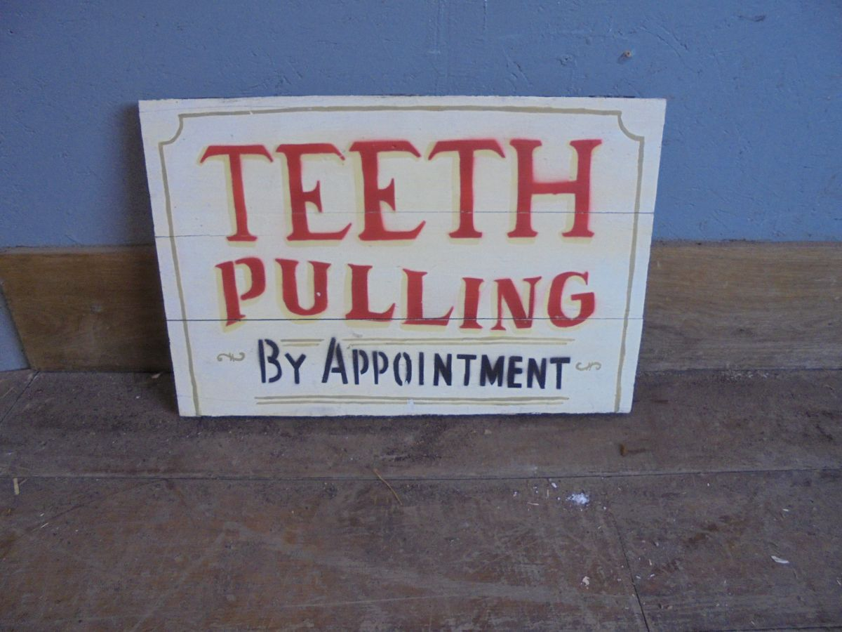 variety of wooden signs