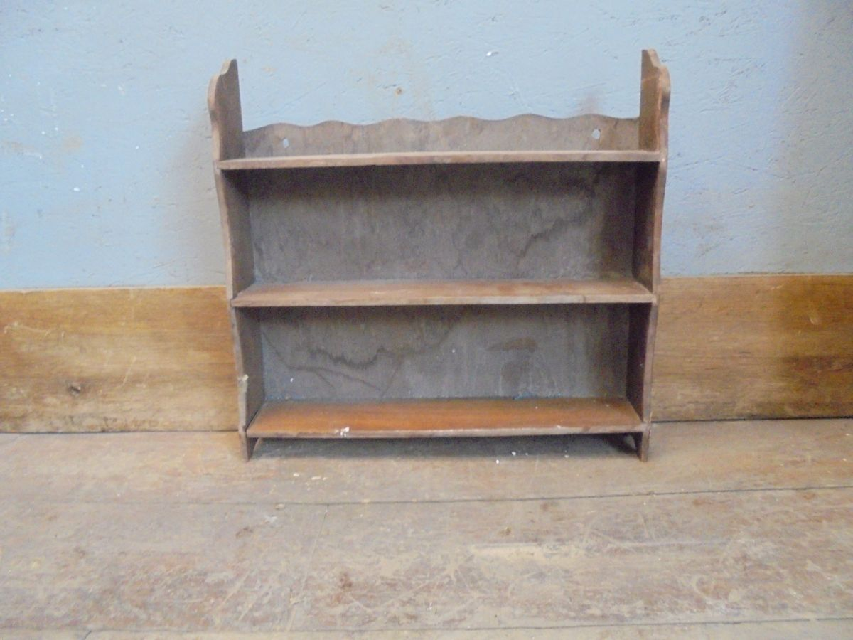 Small Wooden Wall Rack