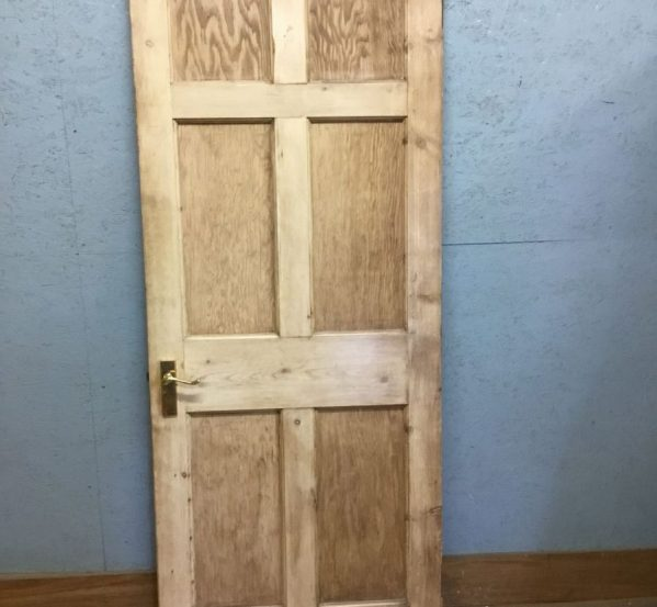 Stripped 6 Panel Door