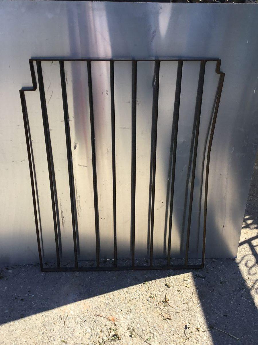 Narrow 9 Bar Gate