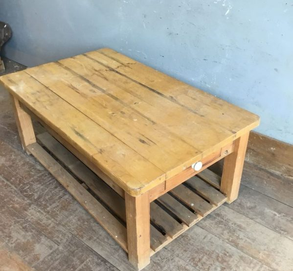 Coffee Table and Drawer