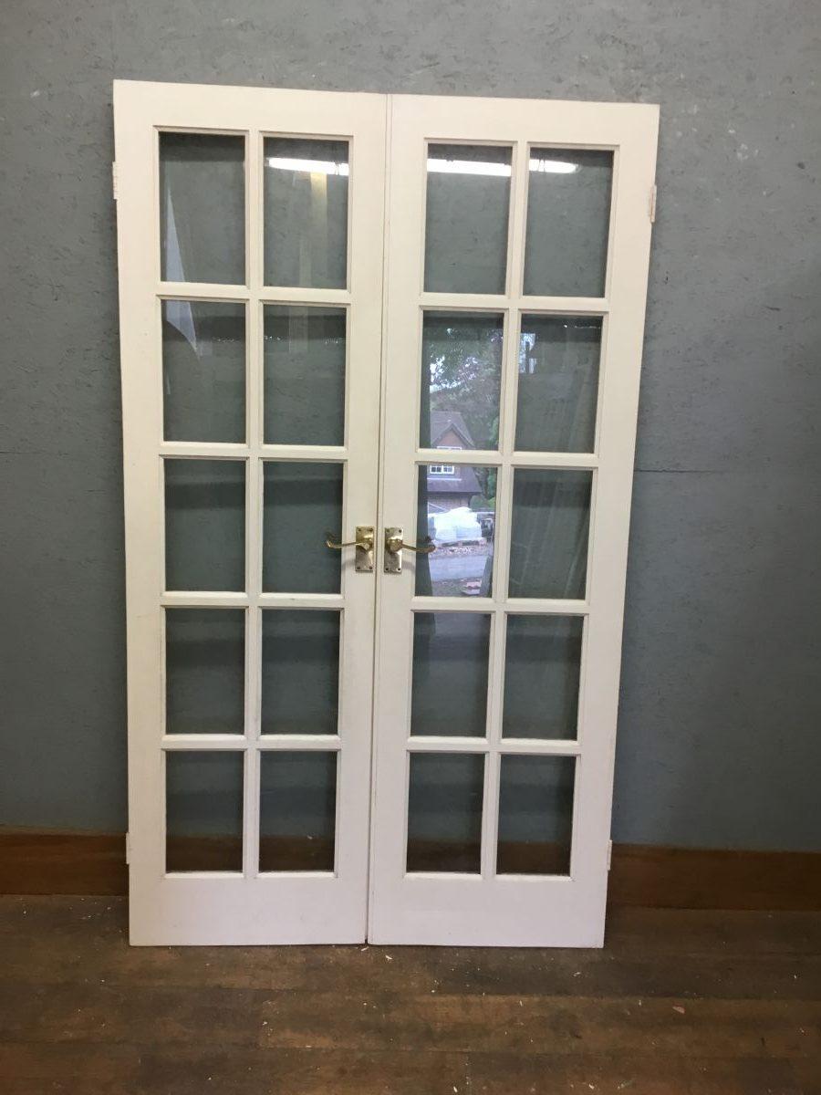 Fully Glazed Double Doors