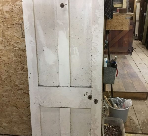 Painted 4 Panel Pine Door