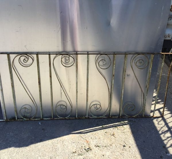 Wide Painted Swirled Gate