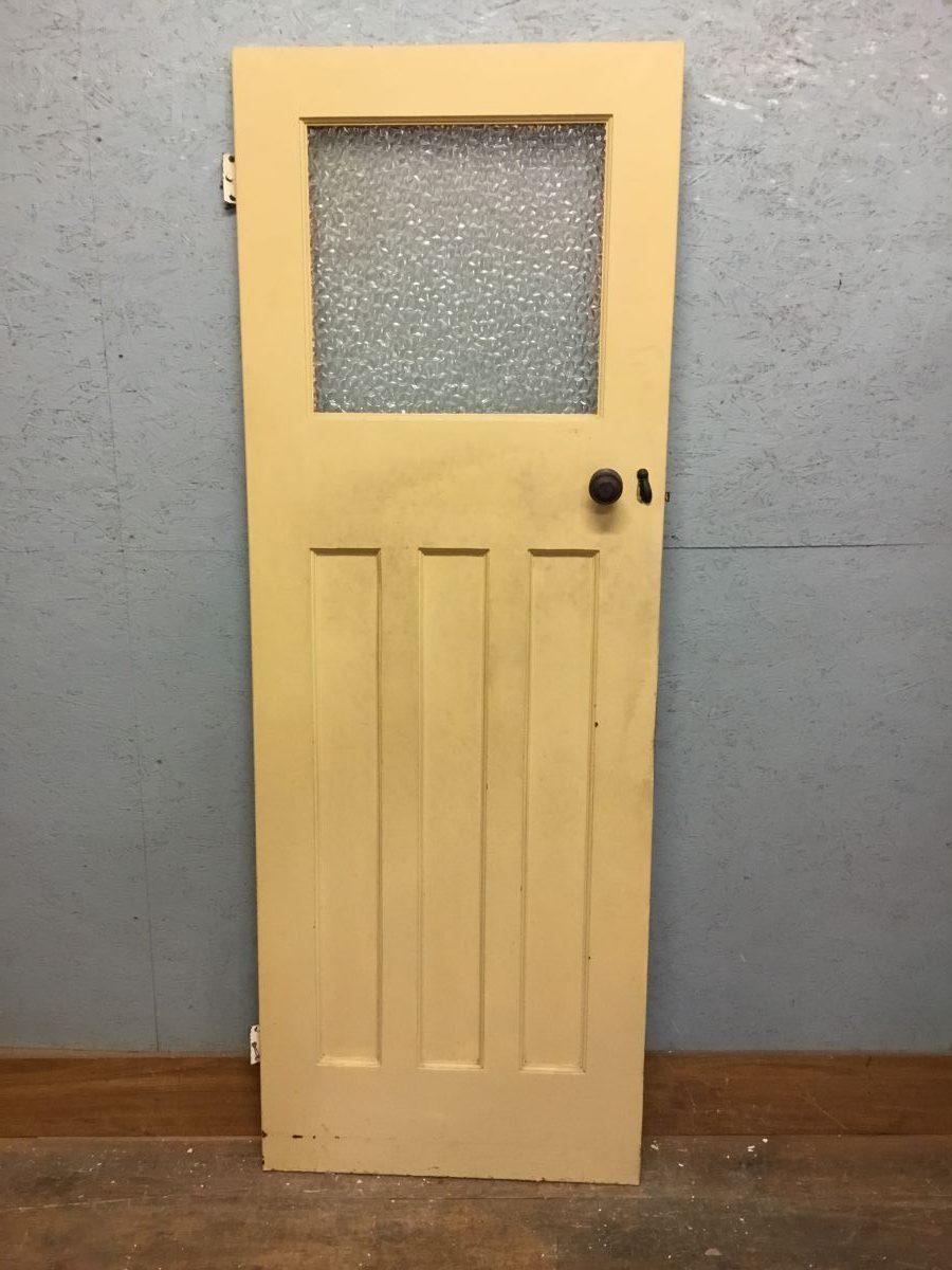 Half Glazed Painted Door