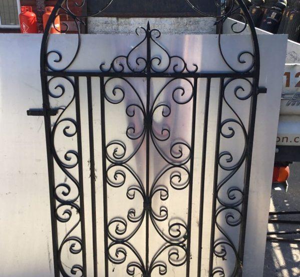 Tall Ornate Garden Gate