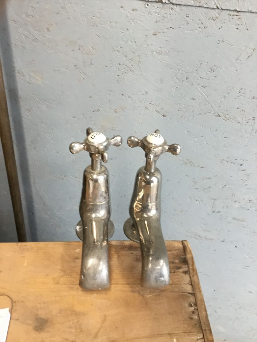 Heavy Duty Chrome Taps