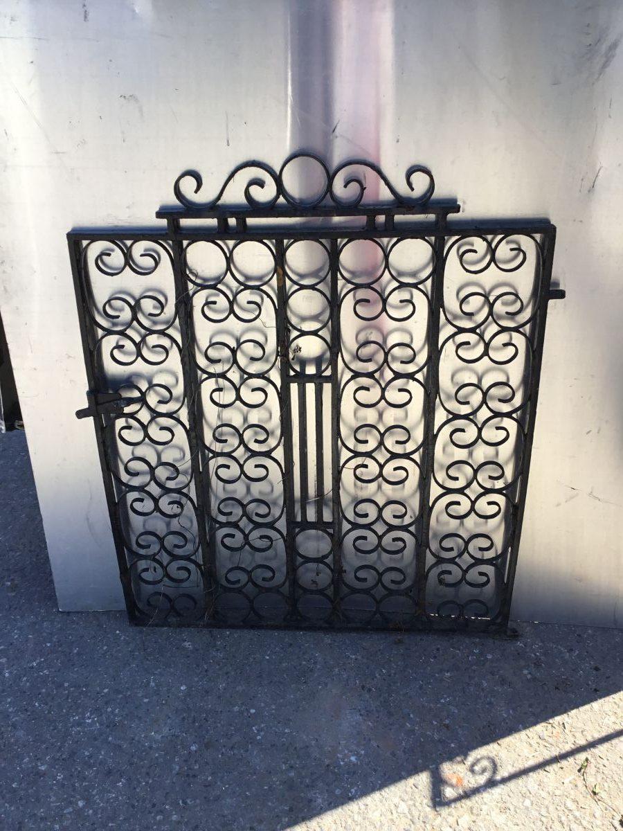 Ornate Black Garden Gate
