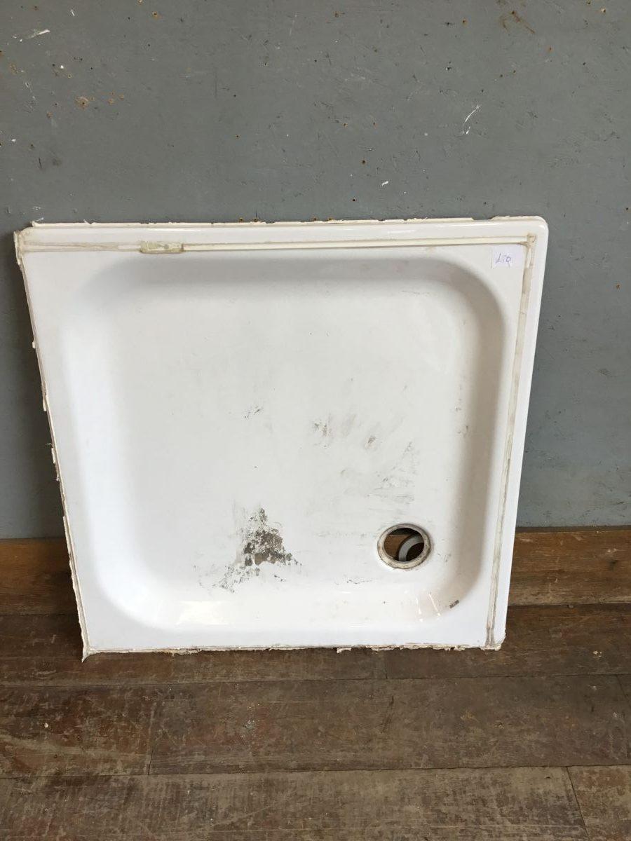 White Shower Base Insert