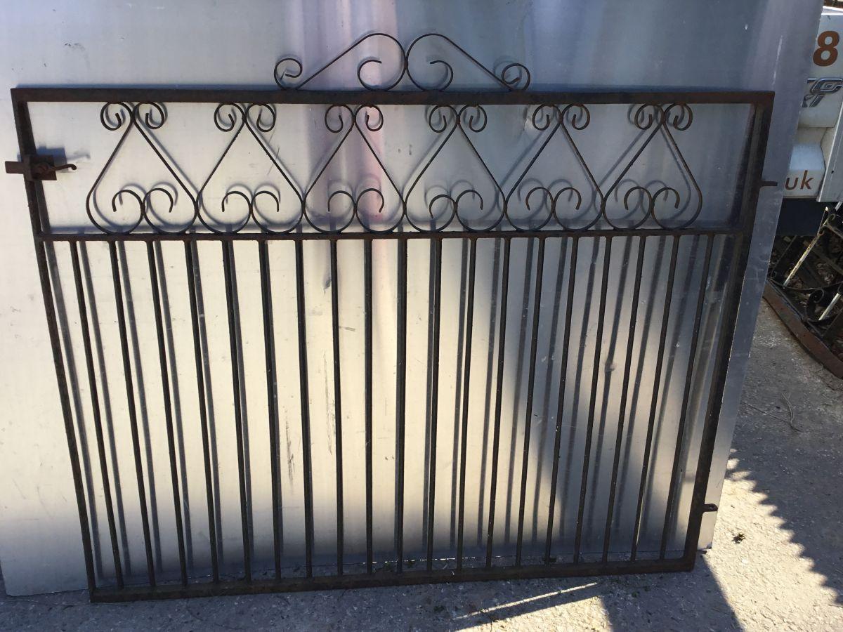 Ornate Narrow Barred Gate