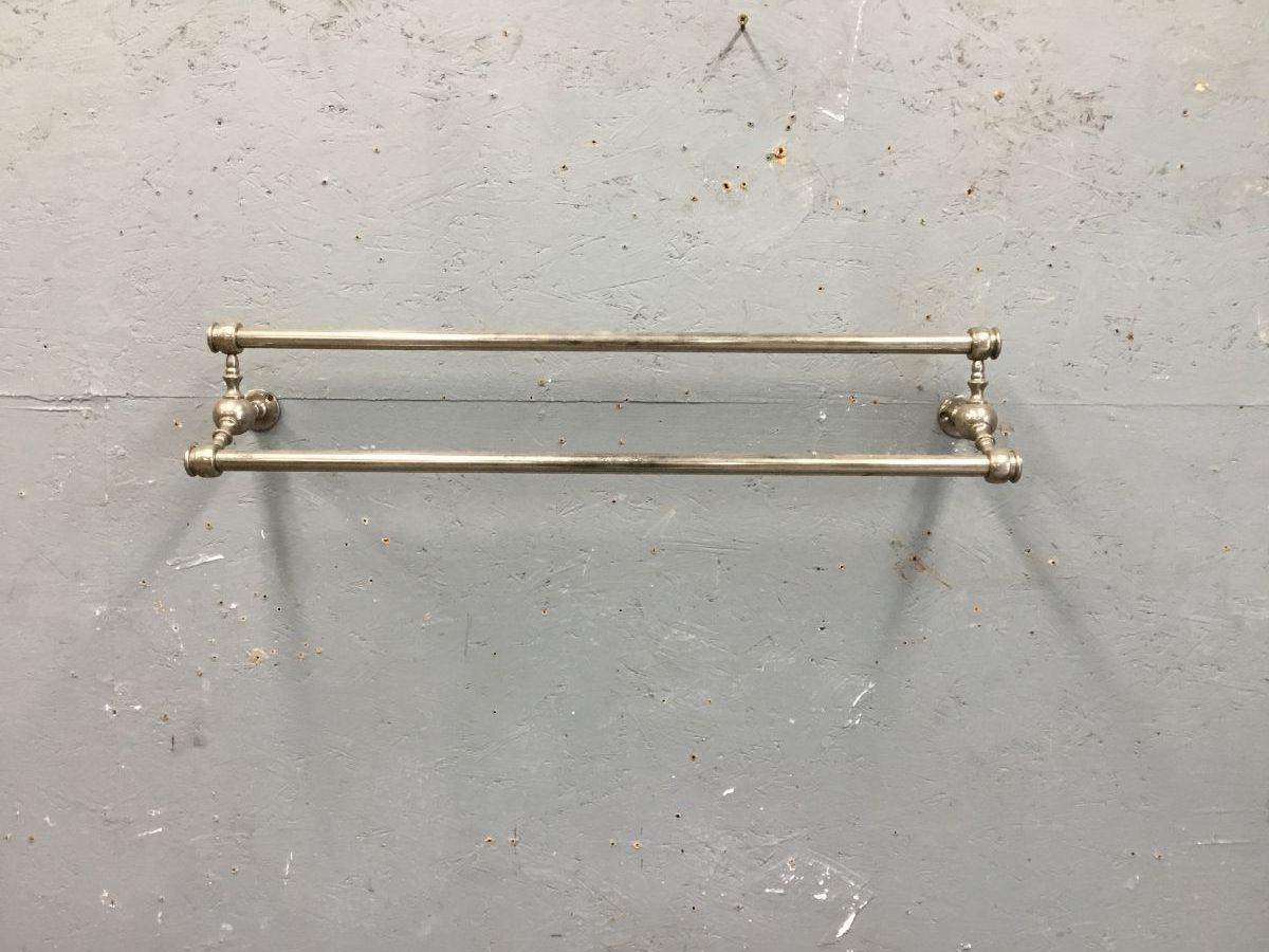 Chrome Double Towel Rail