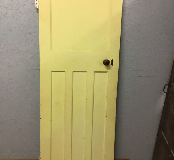 Green Painted Internal Door