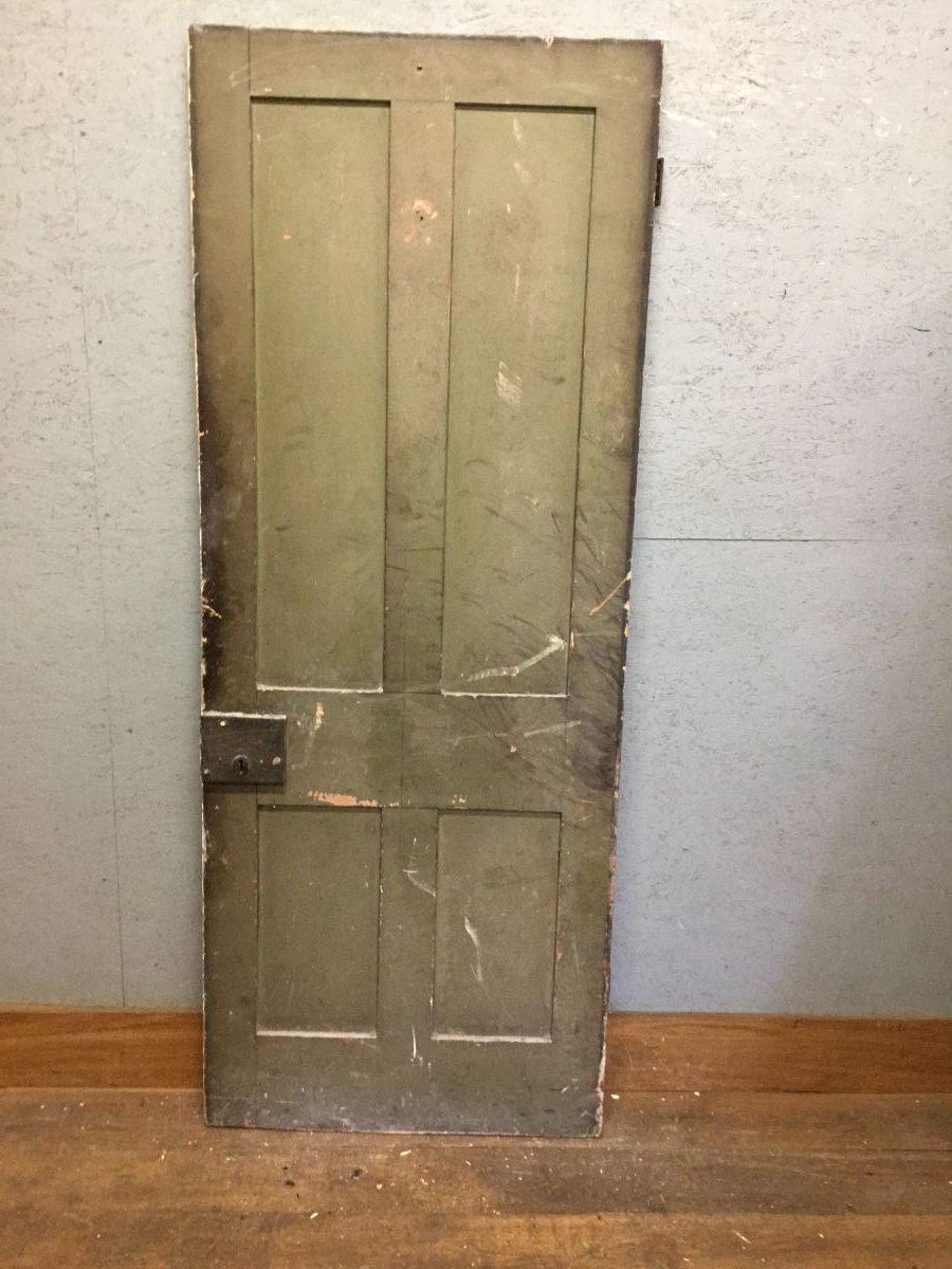 Reclaimed Painted Cellar Door