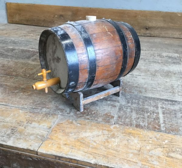 Decorative Wooden Beer Barrel