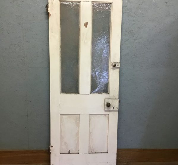 Half Glazed 4 Panel Door