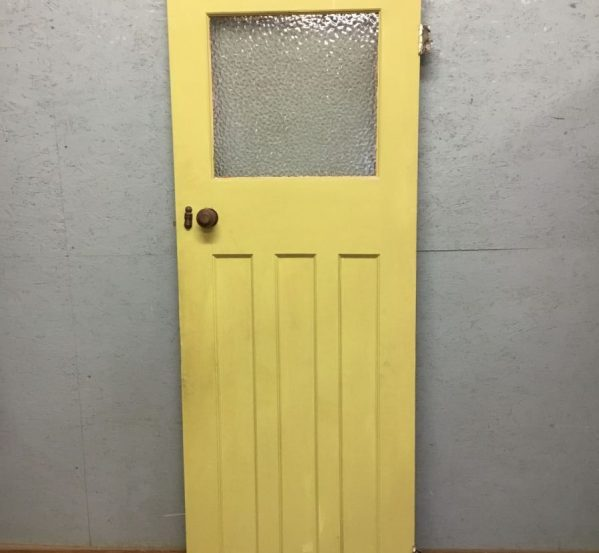 Half Glazed Painted Door