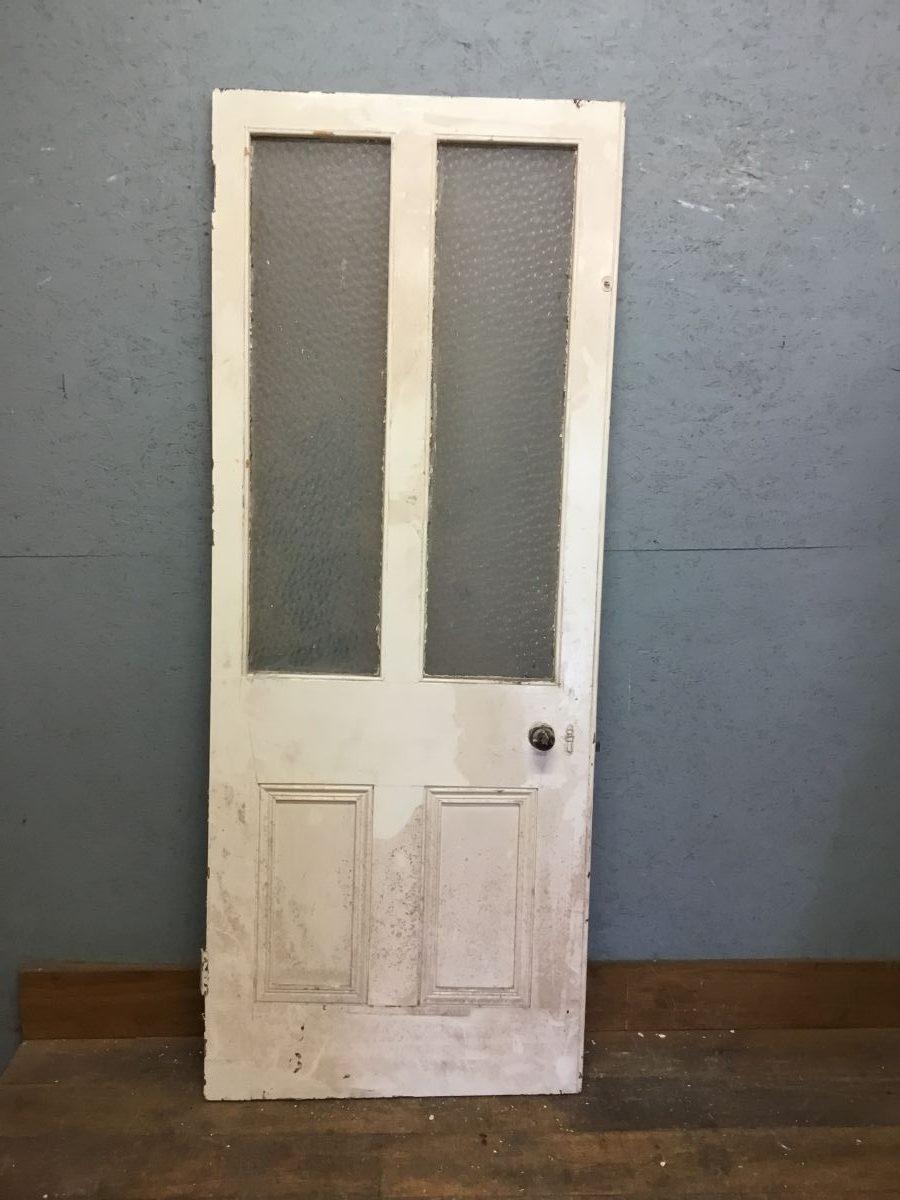 4 Panel Half Glazed Door