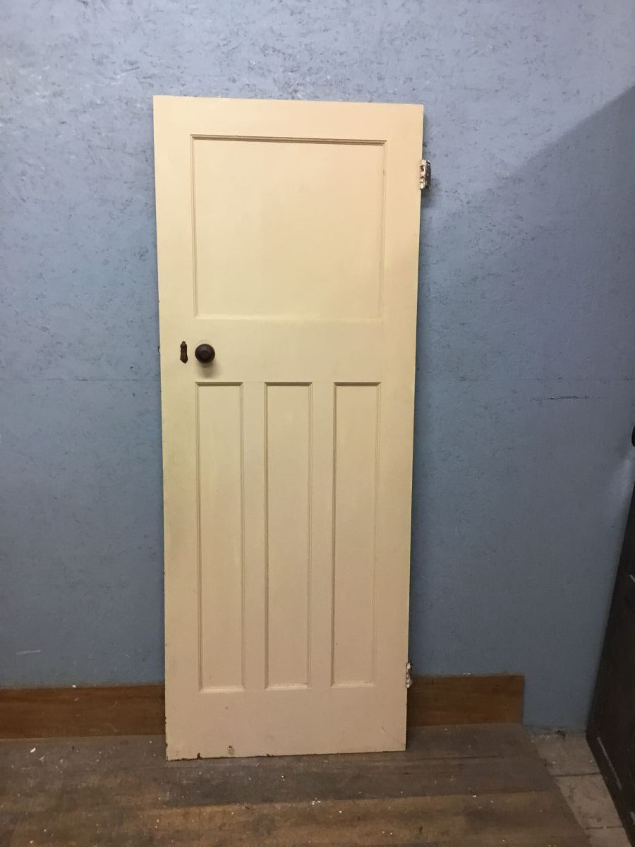 Green Painted Internal Door