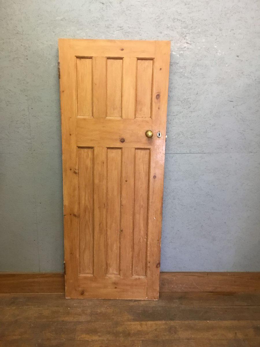 Stripped Pine 6 Panel