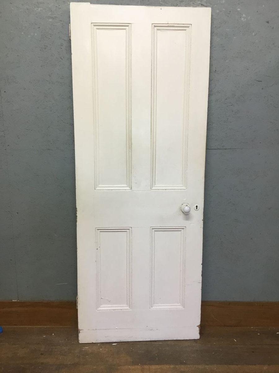 White 4 Panel Door