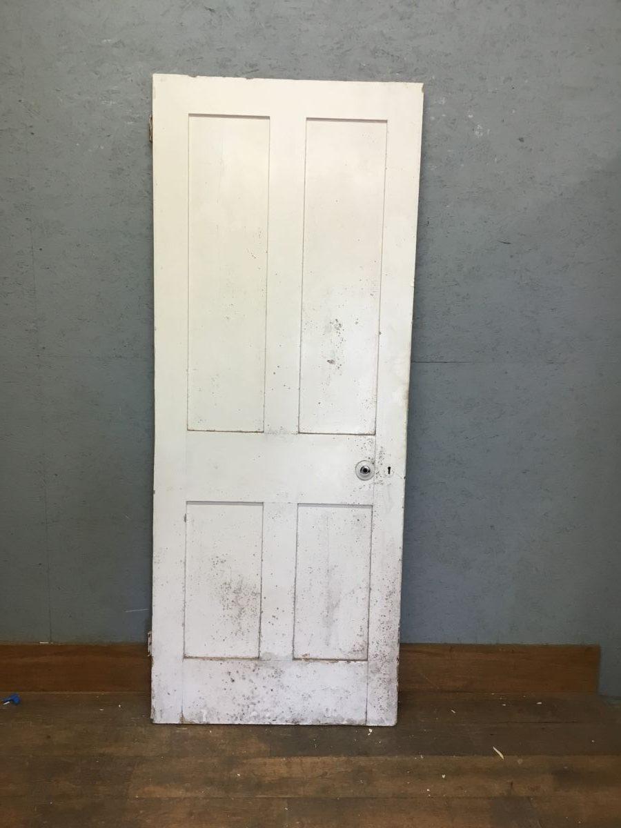 White 4 Panell Door
