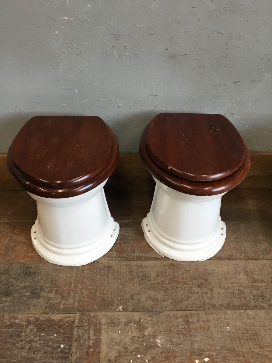 White China Toilet