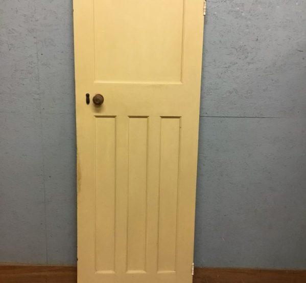Panelled Reclaimed Bathroom Door