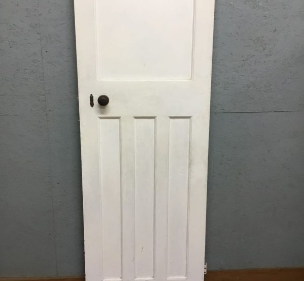 White Painted Panelled Door