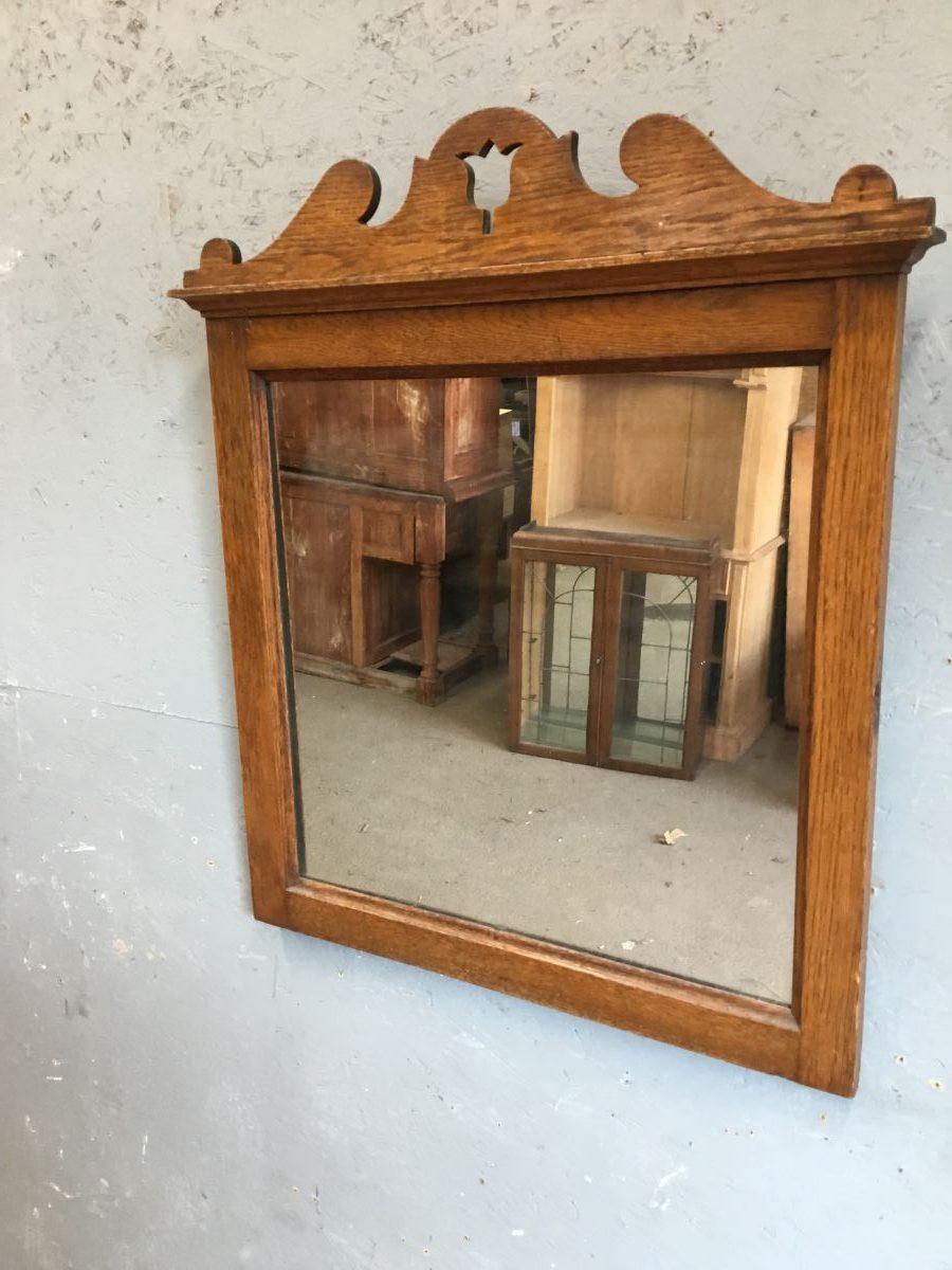 Wooden Tulip Framed Mirror