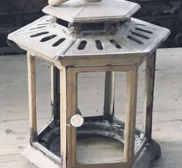 Metal Lantern Frame