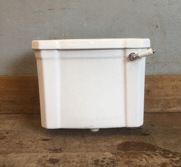White Ceramic Cistern