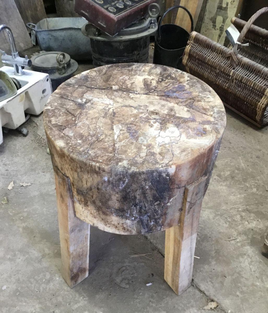 2 Wood Stool