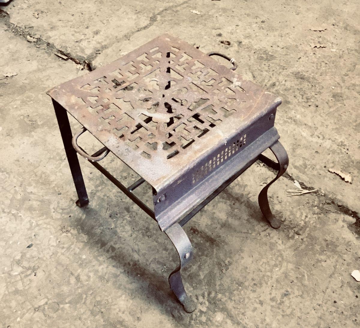 Edwardian foot stool
