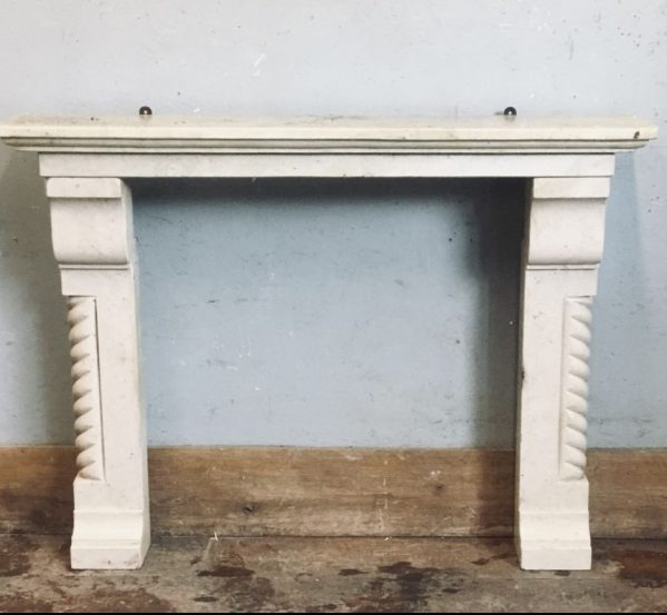 Cream Fire Surround