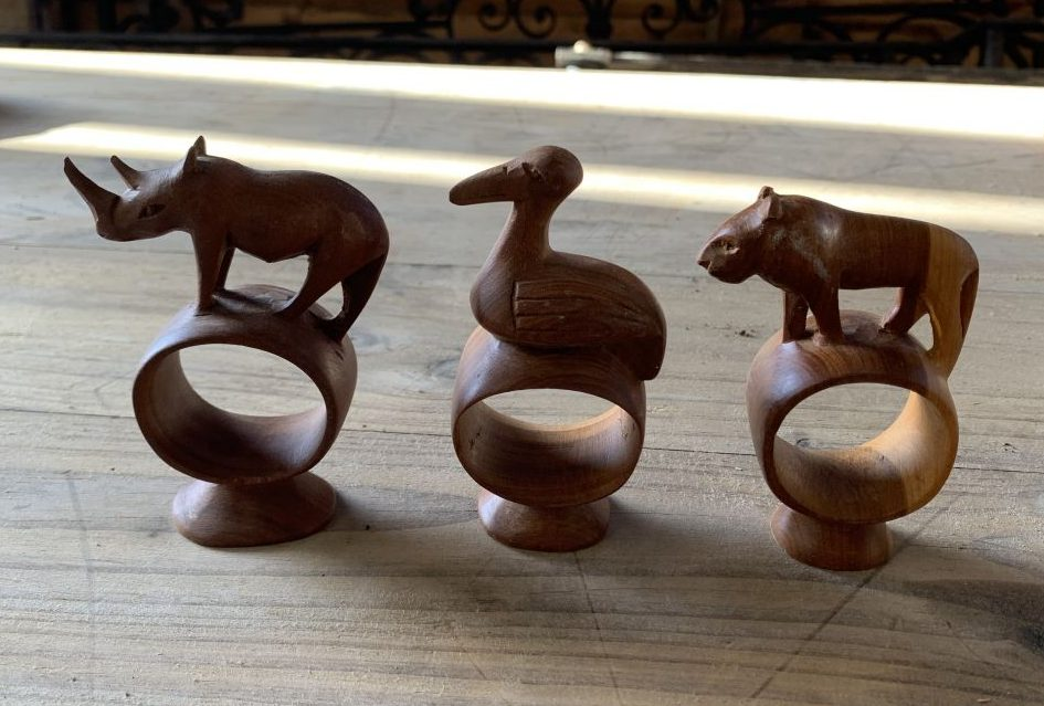 Small Animal Wooden Sculptures