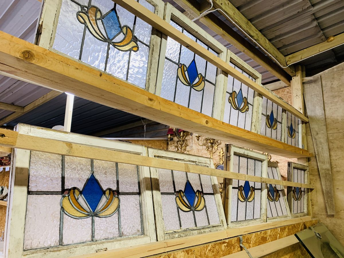 10X Small Stained Glass Windows
