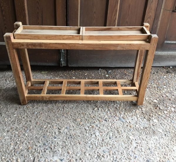 Wooden Side Table/ Umbrella Stand