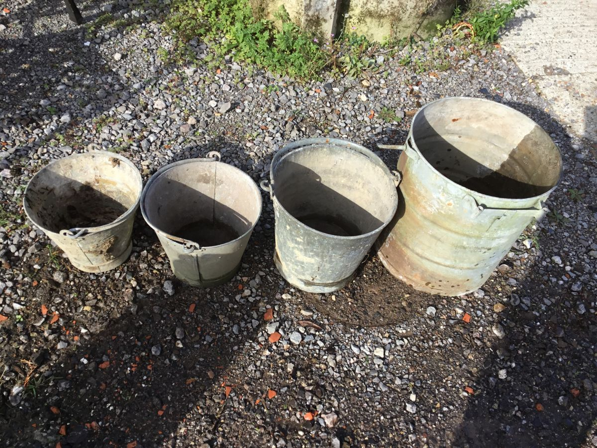 Selection of Garden buckets