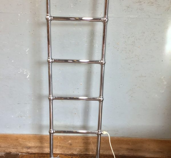 Tall Chrome Towel Rail