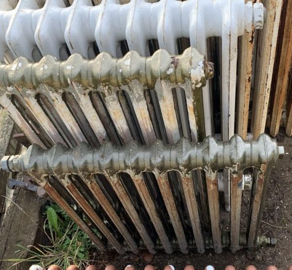 Reclaimed Green Radiators