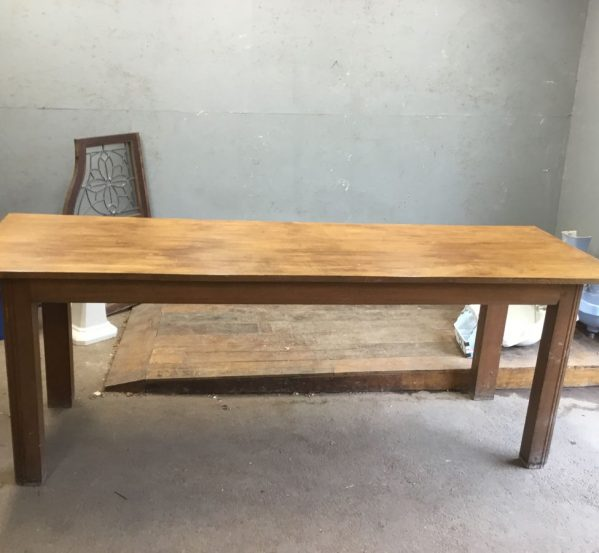 Beautiful Reclaimed Alter Table