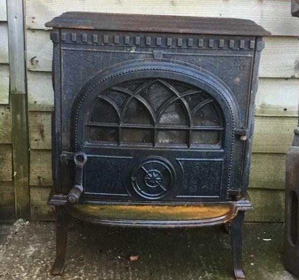 Gothic Log Burner