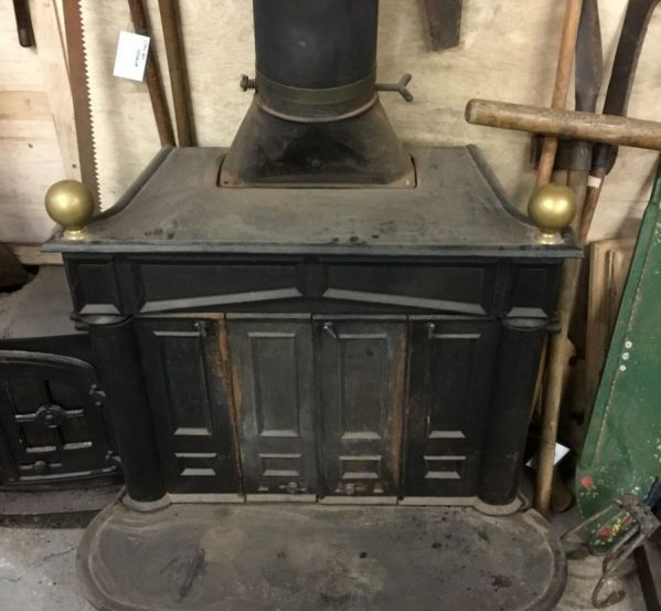 Large Reclaimed Log Burner