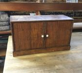 Wooden Trinket Cabinet