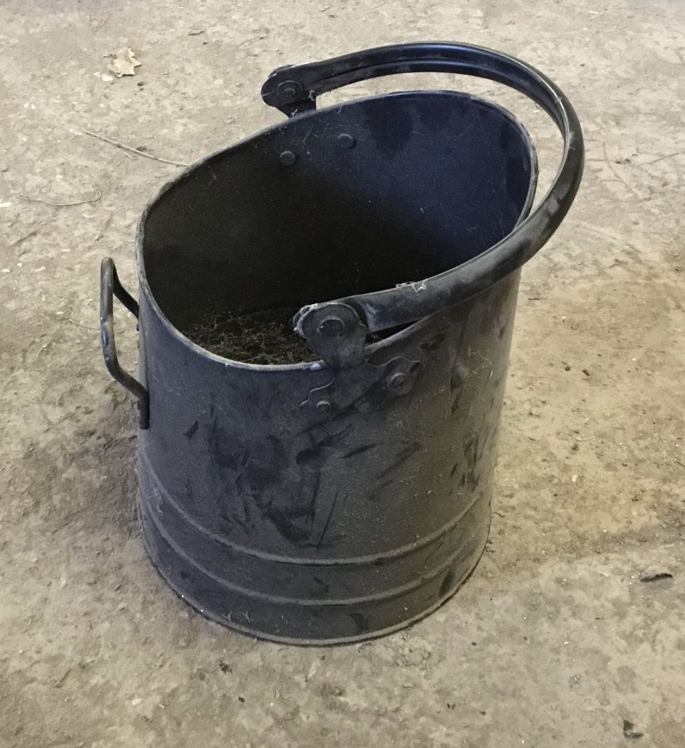 Soot Black Bucket