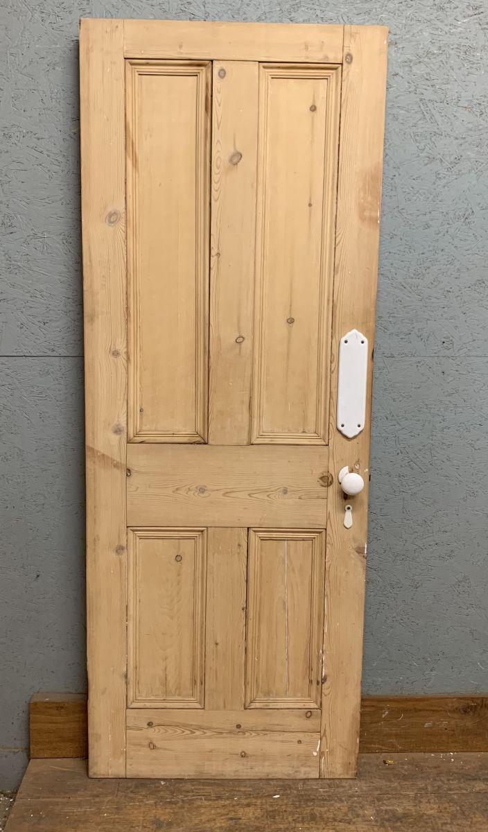 Stripped 4 Panel Pine Door