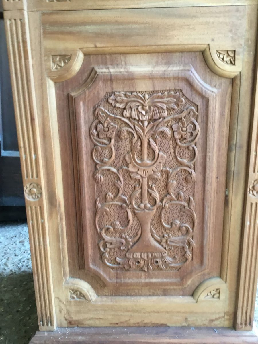 Wooden Detailed Cabinet