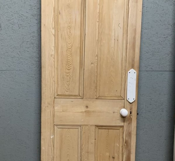 Large Stripped 4 panelled Door