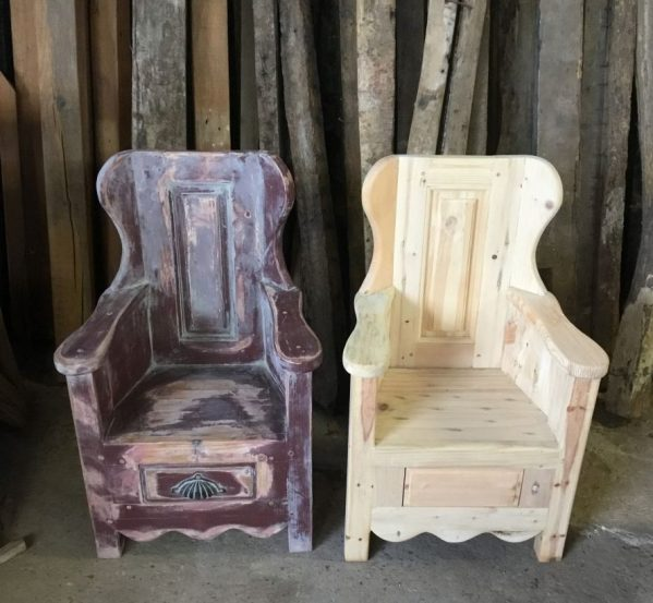 Wooden Childrens Chair
